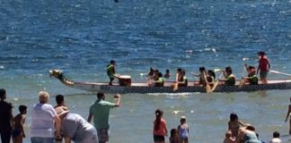 San Javier Escolar de Dragon Boat race