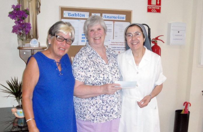 HELP donates to the Nuns of Sucina