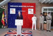 British ambassador extols the excellent relationship between the UK and Spain,