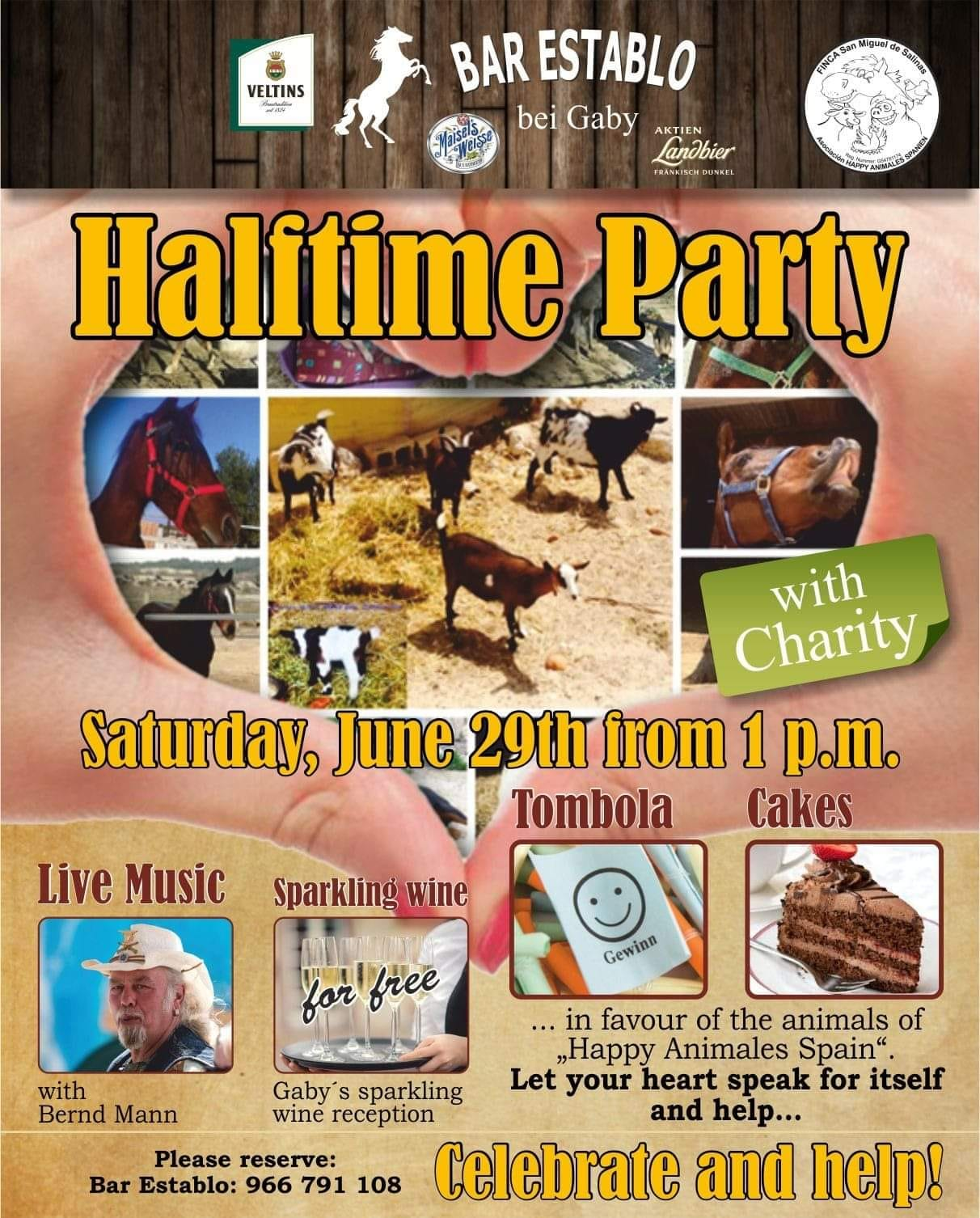Saturday Party, Party at Happy Animales