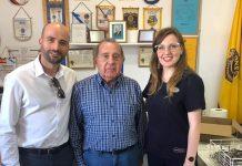 Alba Argudo, Abel Santiago Campana, Antonio Sansano