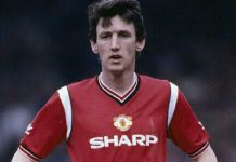 Peter Davenport at Manchester United.