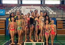 Exceptional achievements for the Jennifer Colino Rhythmic Gymnastics Club in the middle and advanced federation provincial championship