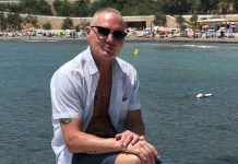 Paul Gascoigne in Cabo Roig