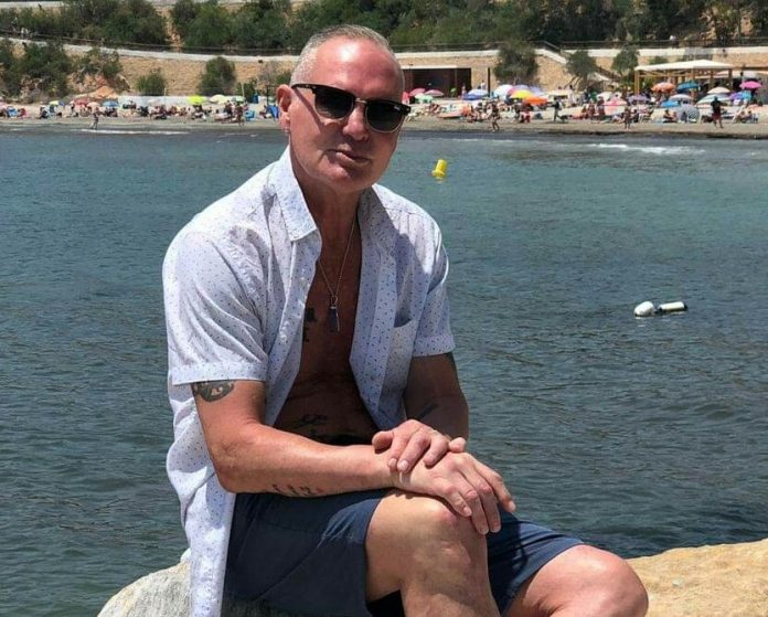 Paul Gascoigne in Cabo Roig