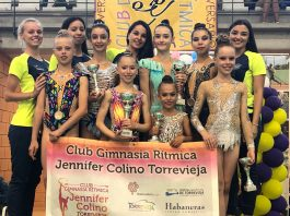 Gold in an excellent season of the Jennifer Colino Club in the Autonomic Phase of the Basic Level Federation Trophy