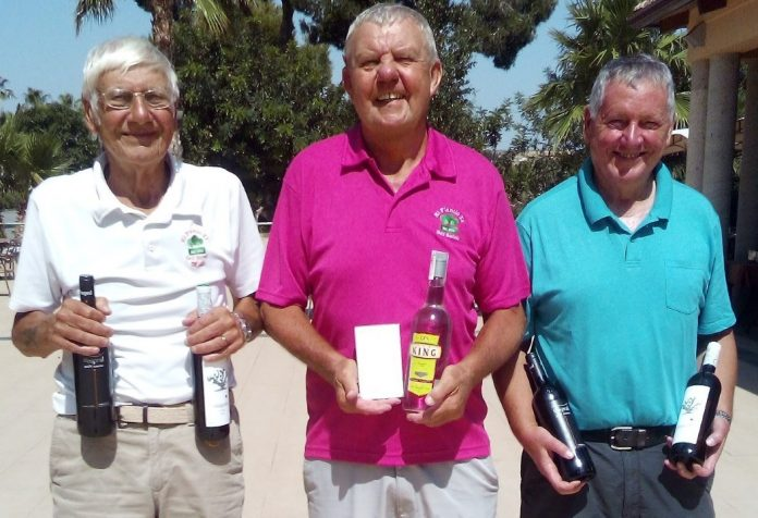 Picture from L to R: Mike Williams.Graham Blakeway, Barry Walthall.