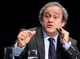 Michel Platini, arrested in France