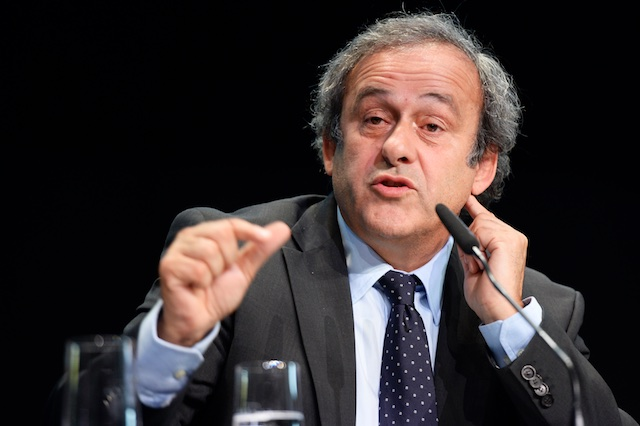 Michel Platini, arrested in France