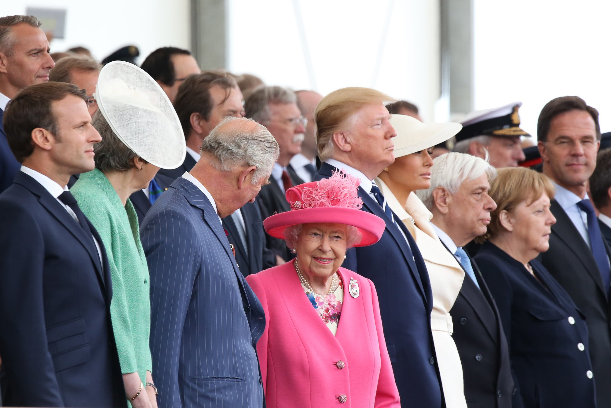 ". In her speech Queen Elizabeth said ""My generation was very resilient."""