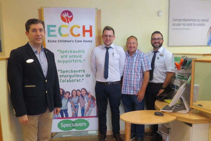 Support to Care Home from Specsavers