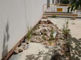 Is Orihuela Costa's Civic Centre about to crash down?