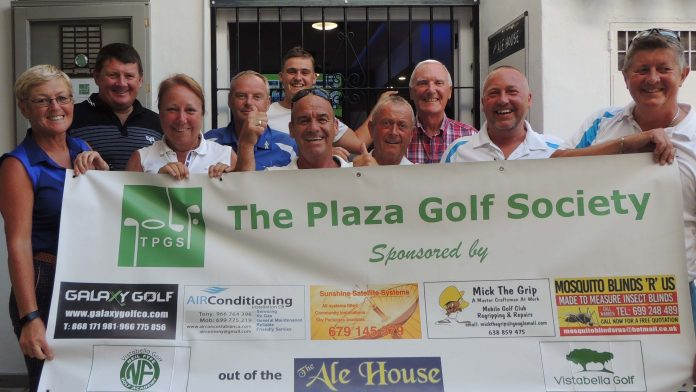 Plaza Golf Society at Las Ramblas 31 May
