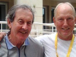 Photo Vernon O'Byrne left, Paulo Johnston, right.
