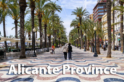 Spanish property for sale in the province of Alicante
