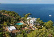 Michael Douglas Mediterranean Island Mansion