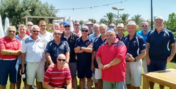 SMGS at Alicante Golf. July 10th, 2019