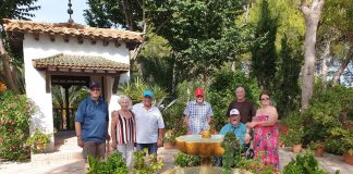 A group from the Royal British Legion recently visited the Gardens