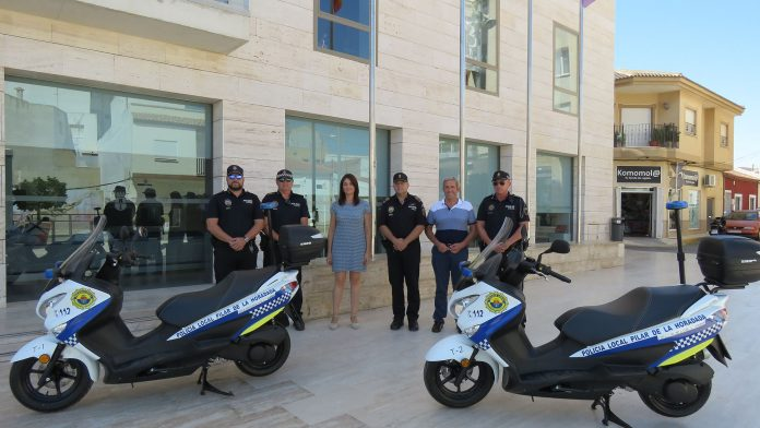 Two new motorcycles for Horadada Police