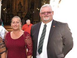 xpat councillors, Samantha Hull and Darren Parmenter