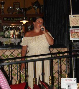 Justine singing Eva Cassidy