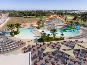 A rendering of the waterpark