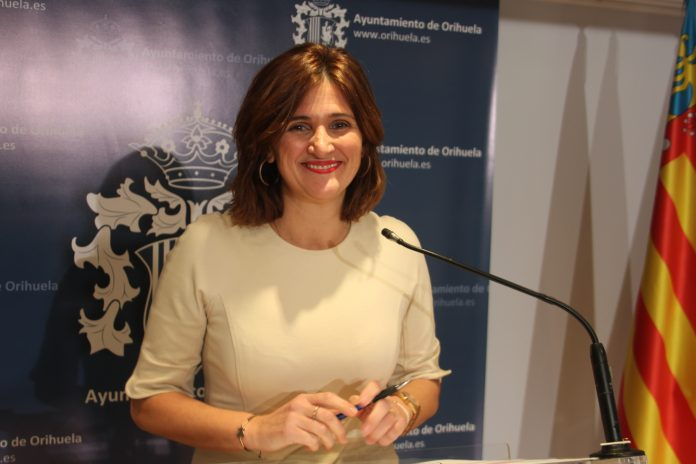Mariola Rocamora, the Councillor for Tourism and Festivities