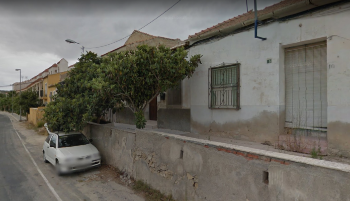 The street in Torremendo where the murder occured