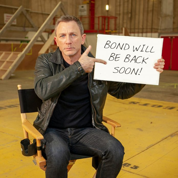 BOND WILL BE BACK (SOON)