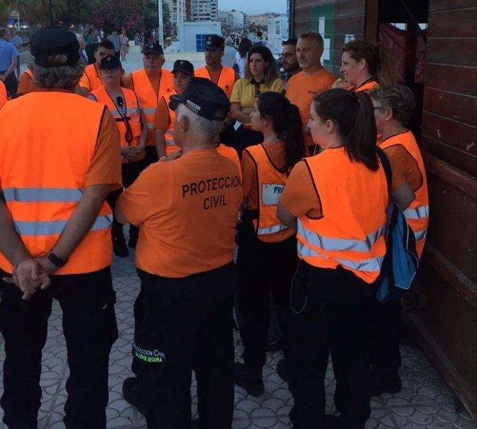 Torrevieja Civil Protection return to their posts