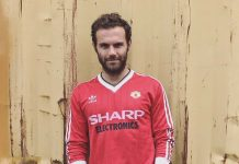Juan Mata of Manchester United and Spain