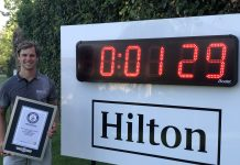Thomas Detry breaks Guinness World Records™ title in Spain - Image European Tour