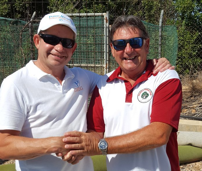 World ranked No1 for Indoor Bowls and Potters Ambassador, Greg Harlow