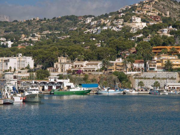 Javea port and marina