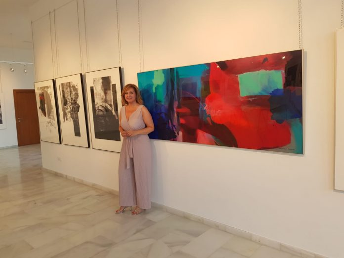"Antonia García Amat opens ""AGARTHA"" Art Show in Mojácar"