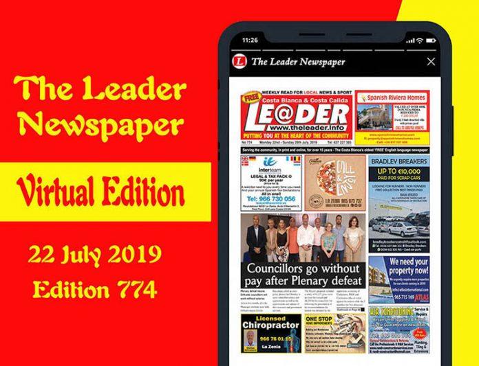 The Virtual Leader Newspaper edition 774