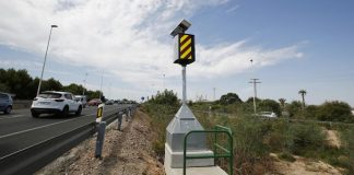 New speed camera installed on Torrevieja stretch of N 332