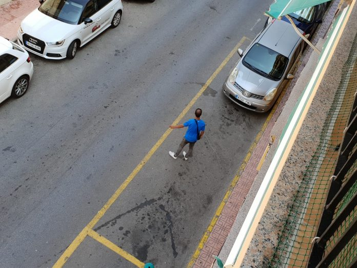 Complaints about begging and Illegal street valets in Torrevieja