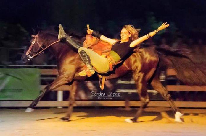 Trick-rider star Emma's ultimate dream job - the big one!