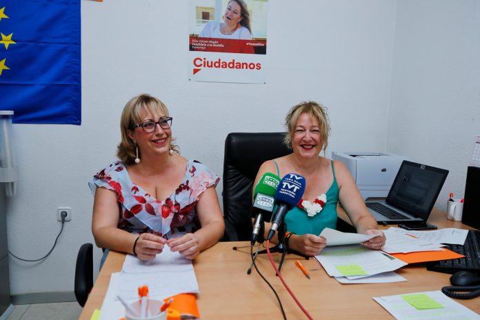 Ciudadanos (Cs) councillors in Torrevieja and San Miguel