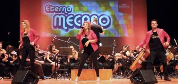 'Eterno Mecano,' a tribute act to one of Spain's biggest goups, Mecano,