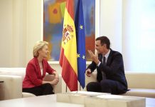 Pedro Sánchez hosts new EU President