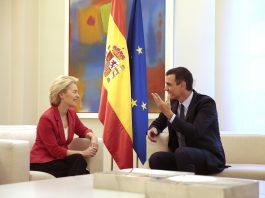Pedro Sánchez hosts new EU President