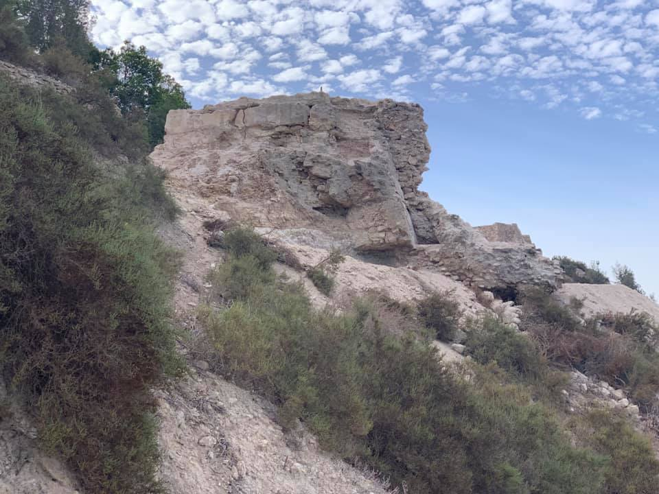 Excavations at Guardamar Castle discover the original 13th century wall
