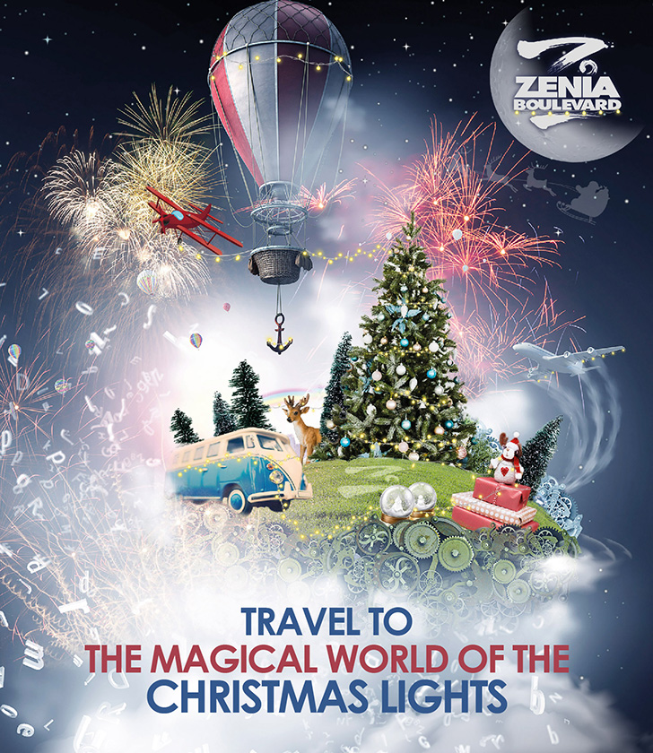 Travel to the magical world of the Christmas lights at La Zenia Boulevard