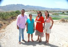 Andalucían Government's Agriculture Minister and Provincial Director visit Mojácar
