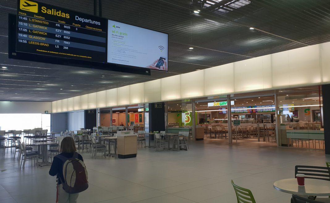 Corvera airport continues to lose traffic