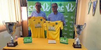 The president, Antonio Felices, and the general director of Caja Rural Central, José Víctor Guillén