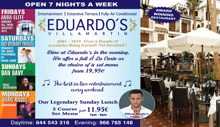 Eduardo's Restaurant Villamartin Plaza