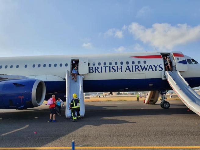 Firefighters have assisted passengers during evacuation (Lucy Brown)